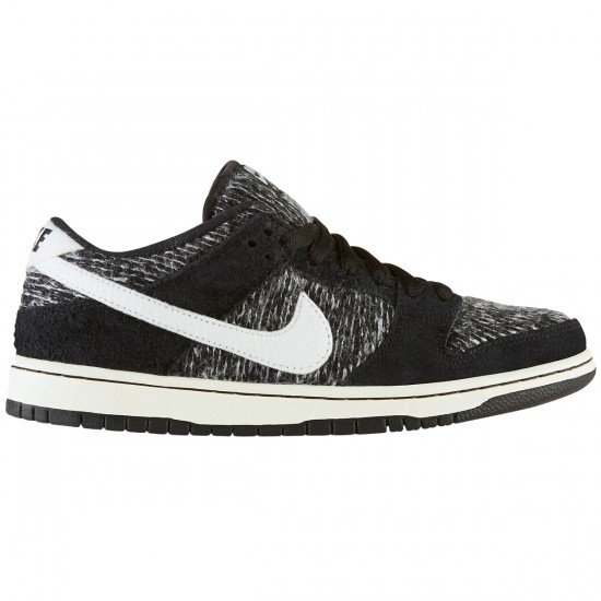 Nike Dunk Low Warmth Shoes - Black/Ivory/Grape - 10.0
