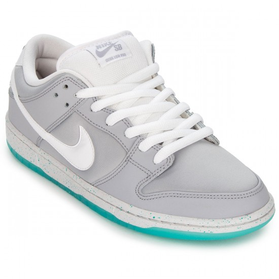 Nike SB Dunk Low Premium McFly Shoes - Wolf Grey/Lt Retro/White - 4.0
