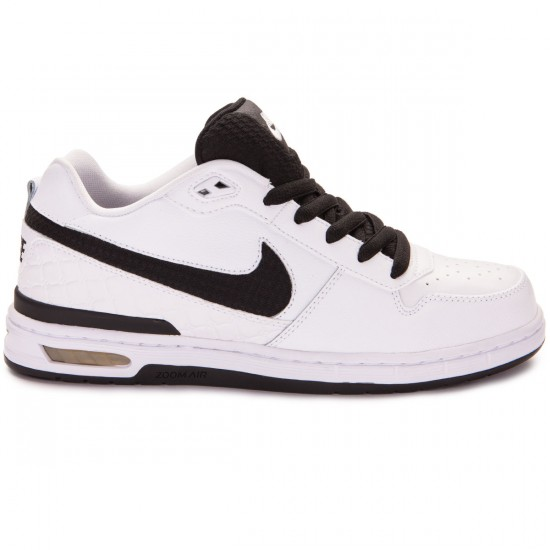 Nike Paul Rodriguez Zoom Air Low Shoes - White/Grey/Black - 6.0