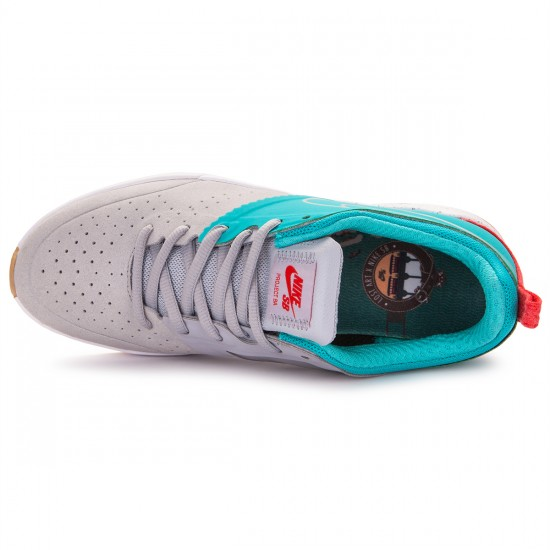 Nike Project BA Premium Shoes - Wolf Grey/Cactus/Gum - 9.0