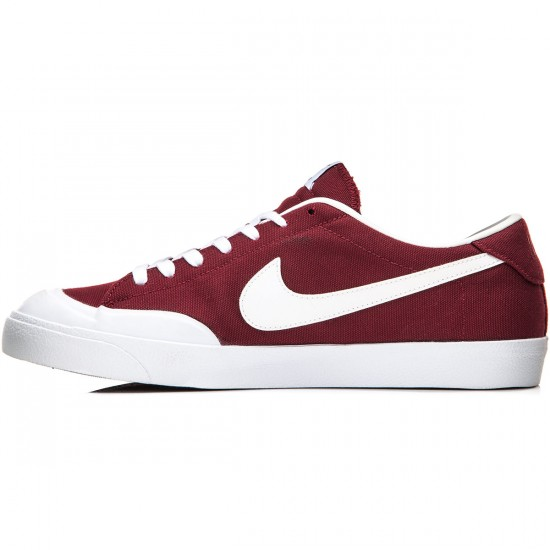 Nike Zoom All Court CK Shoes - Red/Black/White - 7.0