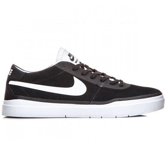Nike SB Bruin Hyperfeel Shoes - Black/White/White - 7.0