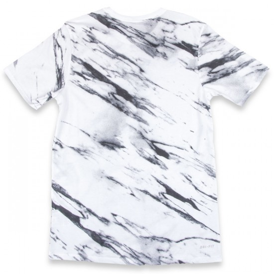 Nike SB DF Written In Stone T-Shirt - White/Grey