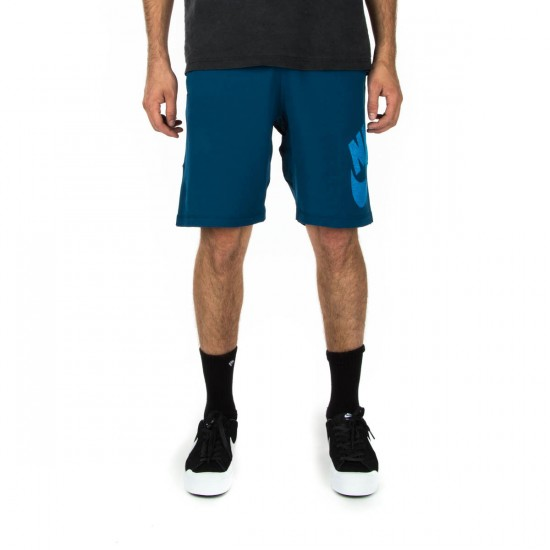 Nike SB Dri-Fit Sunday Short Shorts - Blue Force/Light Blue Lacquer