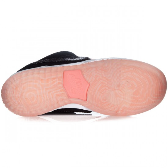 Nike SB Dunk Low Premium Fish Ladder Shoes - Atomic Pink/White/Black - 14.0