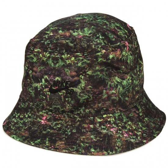Nike SB Fern Bucket Hat - Gorge Green/Black/Black