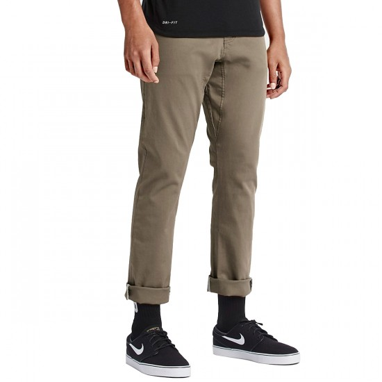Nike SB FTM 5 Pocket Pants - Khaki - 30 - 32