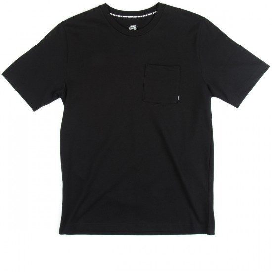 Nike SB Heavy Weight Cotton T-Shirt - Black