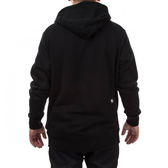 Nike SB Icon Crackle PO Hoodie - Black/White