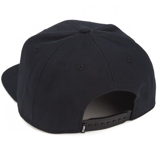 Nike SB Icon Pro Hat - Black/Black/Pine Green/Anthracite