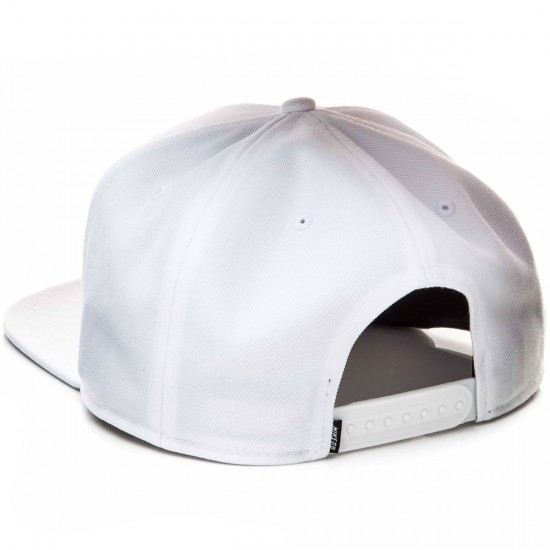 Nike SB Icon Pro Hat - White/Wolf Grey/Black