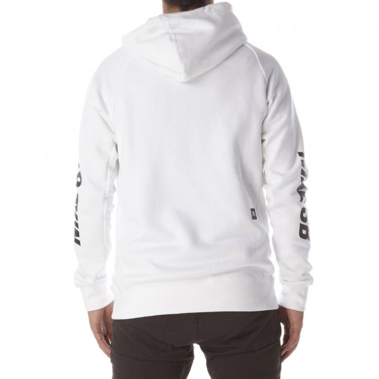 Nike SB Icon Yarn-Dye Pullover Hoodie - White/Black