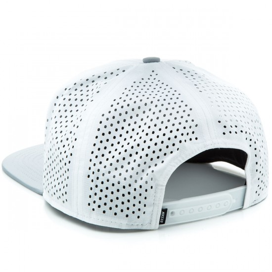 Nike SB Perforated Trucker Hat - White/Wolf Grey/Black