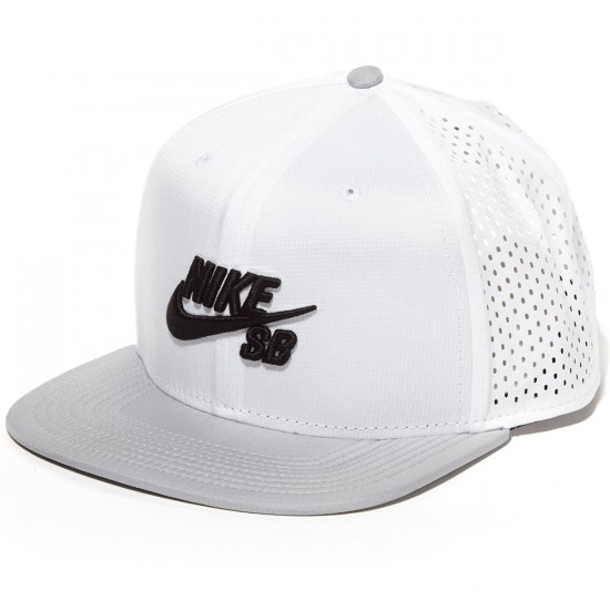 Nike SB Performance Hat - White/Grey/Black