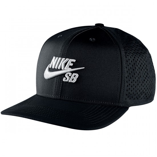 Nike SB Performance Trucker Hat - Black/Black/Black/White