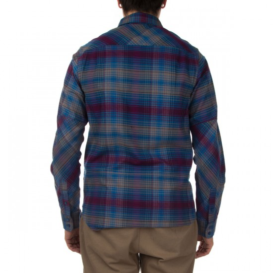 Nike SB Plaid Woven Long Sleeve Shirt - Blue