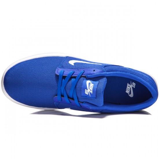 Nike SB Portmore Ultralight Shoes - Deep Blue/Royal Blue/White - 8.0