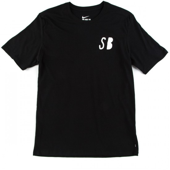 Nike SB Repeat T-Shirt - Black/Black/White