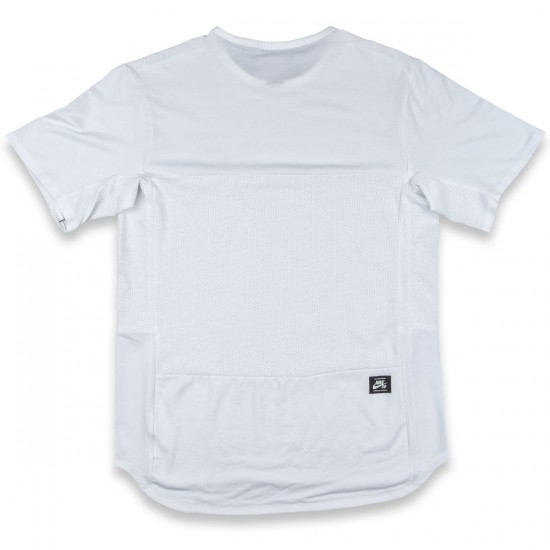 Nike SB Skyline Short Sleeve T-Shirt - White/Black
