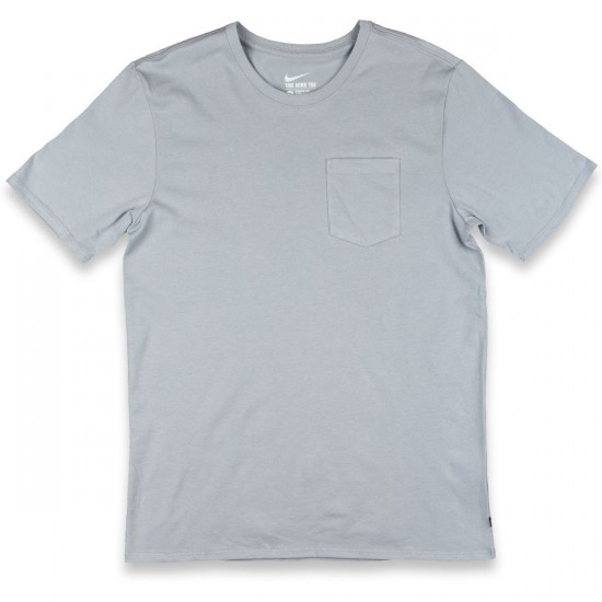 Nike SB Solid Pocket T-Shirt - Wolf Grey