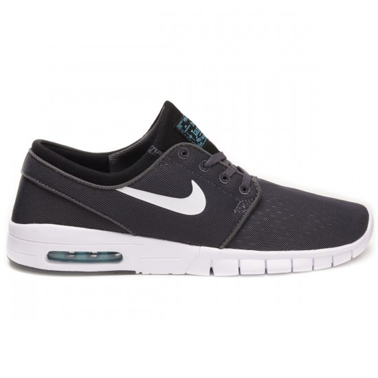 Nike Stefan Janoski Max Shoes - Dark Grey/Black/Blue/White - 7.0