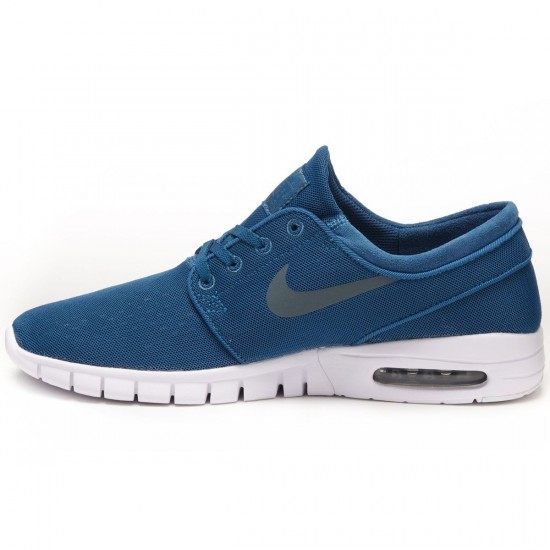 Nike Stefan Janoski Max Shoes - Green/Abyss/White/Hasta - 8.0