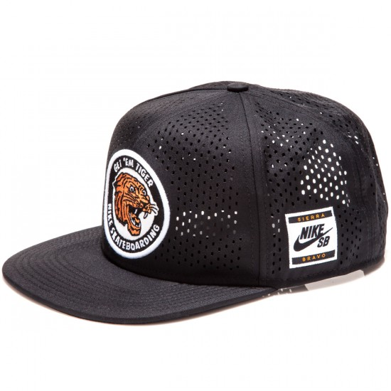 f4115472ac5 Nike SB Tiger Performance Trucker Hat - Black Black