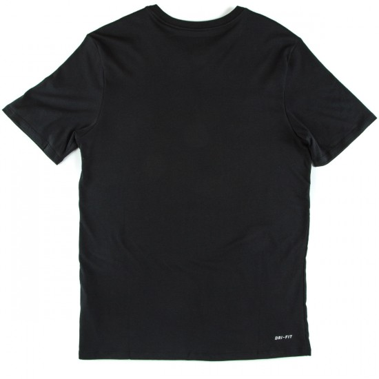 Nike SB Tonal T-Shirt - Black/Black Heather