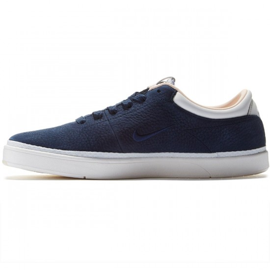 Nike SB X Soulland Zoom Eric Koston QS Shoes - Obsidian/Ivory/Barley Orange - 7.0