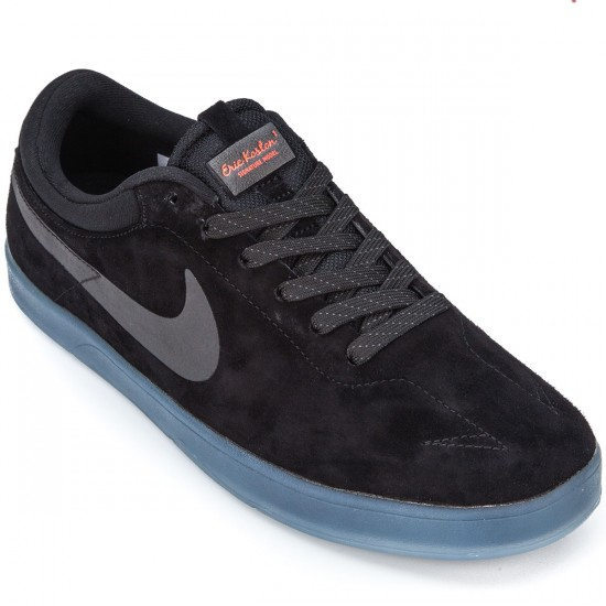46b5a0b7a814 Nike SB Zoom Eric Koston Flash Shoes - Black Light Crimson Black - 10.0