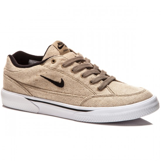 Nike SB Zoom GTS Raw Canvas Shoes - Khaki/White/Black - 7.0