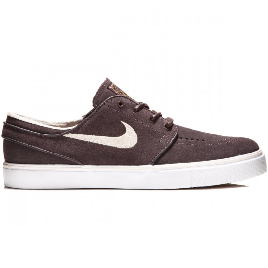Nike Zoom Stefan Janoski Shoes - Cappuccino/White/Gold/Sand - 7.5