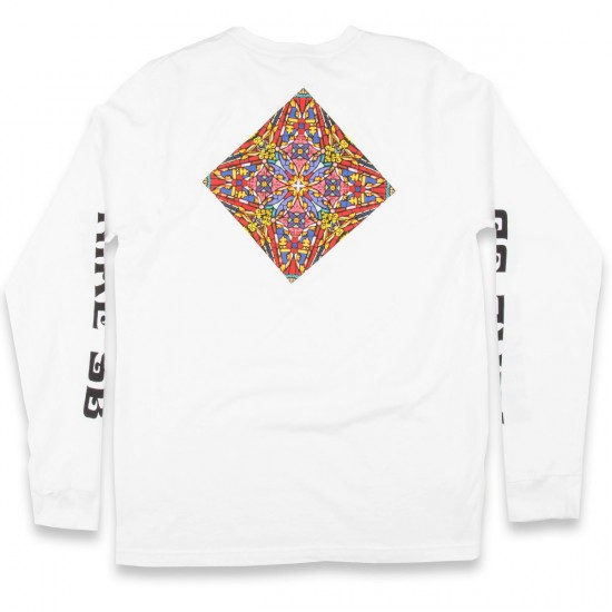 Nike Stained Glass Long Sleeve T-Shirt - White