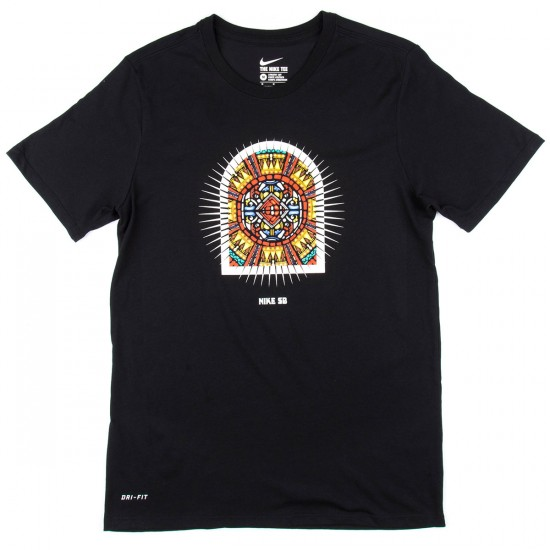 Nike Stained Glass T-Shirt - Black