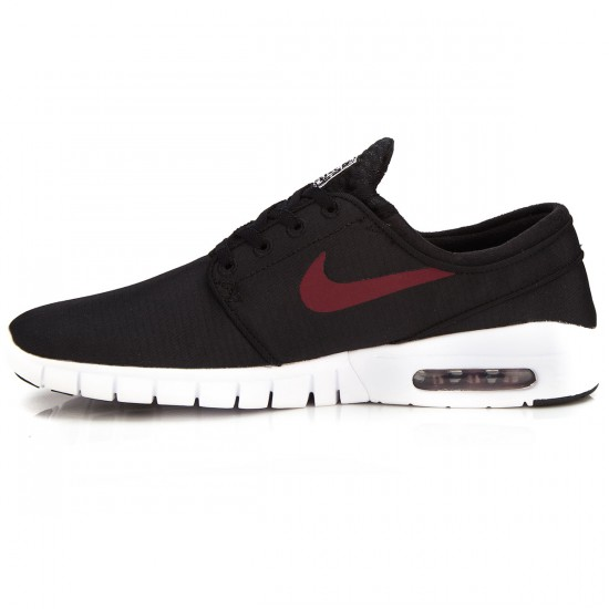 Nike Stefan Janoski Max Shoes - Black/White/Red - 14.0