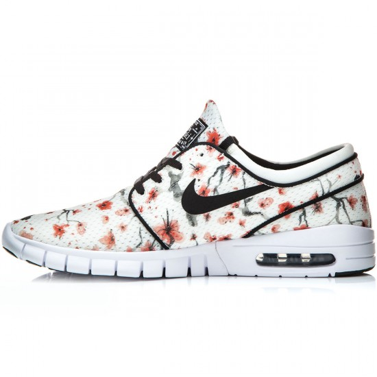 Nike Stefan Janoski Max Premium Shoes - Sail/White/Black - 7.0