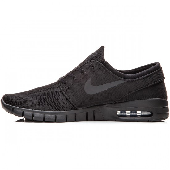 Nike Stefan Janoski Max Shoes - Black/Anthracite/Black - 8.0
