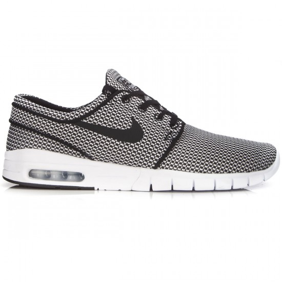 Nike Stefan Janoski Max Shoes - Black/White - 8.0