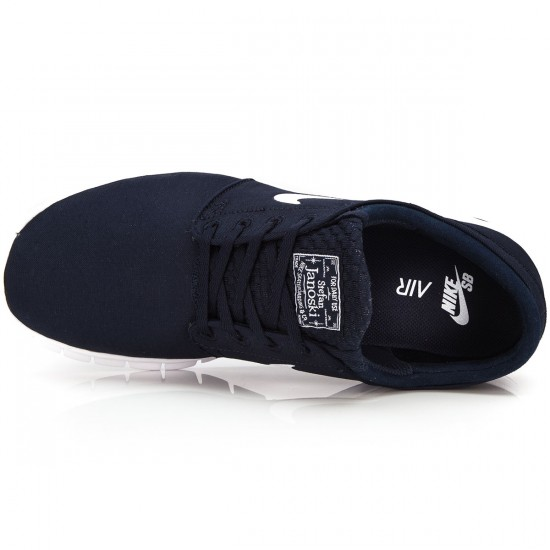 Nike Stefan Janoski Max Shoes - Obsidian/White/Black - 6.0