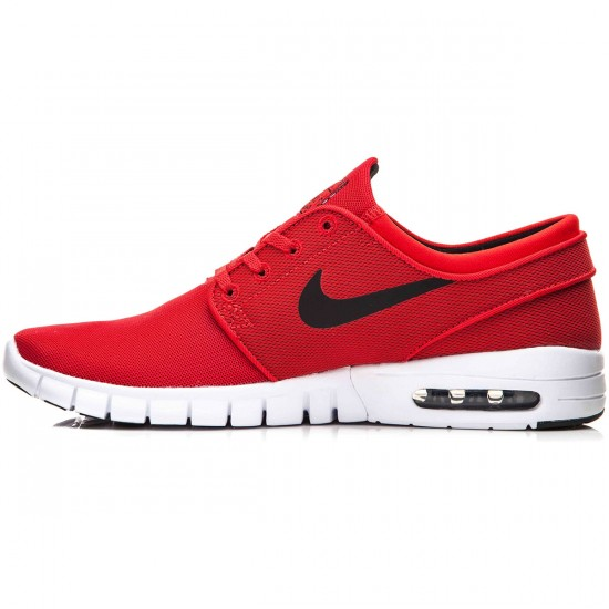 Nike Stefan Janoski Max Shoes - Red/White/Black - 7.0