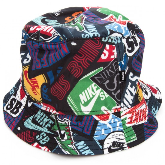 Nike Stickers Bucket Hat - Black 01f706f7aad