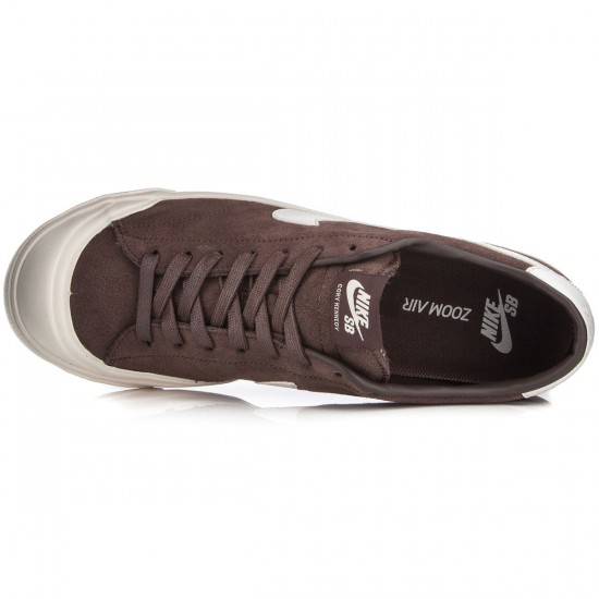 Nike Zoom All Court CK Shoes - Baroque Brown/Ivory - 6.0