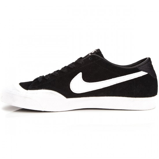 Nike Zoom All Court CK Shoes - Black/White - 6.0