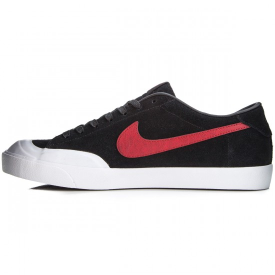 Nike Zoom All Court CK Shoes - Black/White/Red - 6.0