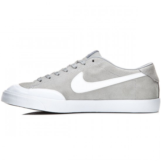 Nike Zoom All Court CK Shoes - Grey/White - 9.0