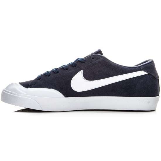 Nike Zoom All Court CK Shoes - Obsidian/White - 6.0