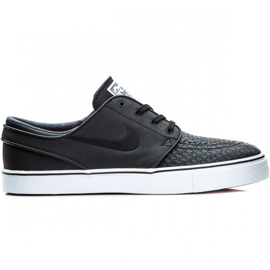 Nike Zoom Stefan Janoski L Shoes - Black/White/Red - 6.0