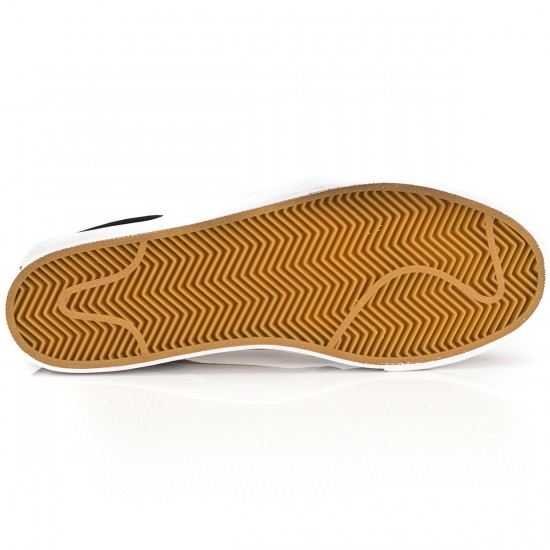 Nike Zoom Stefan Janoski L Shoes - Gold/White/Brown/Black - 6.0