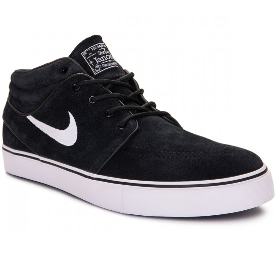 Nike Zoom Janoski Mid Shoes - Black/Black - 10.0