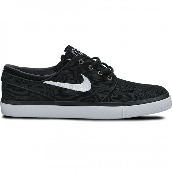 Nike Zoom Stefan Janoski SE Shoes - Black/White - 4.0